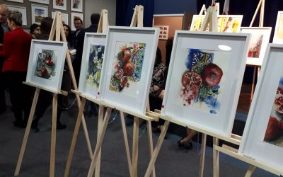 PHOTOS: Yalda WaterColour Group Exhibition