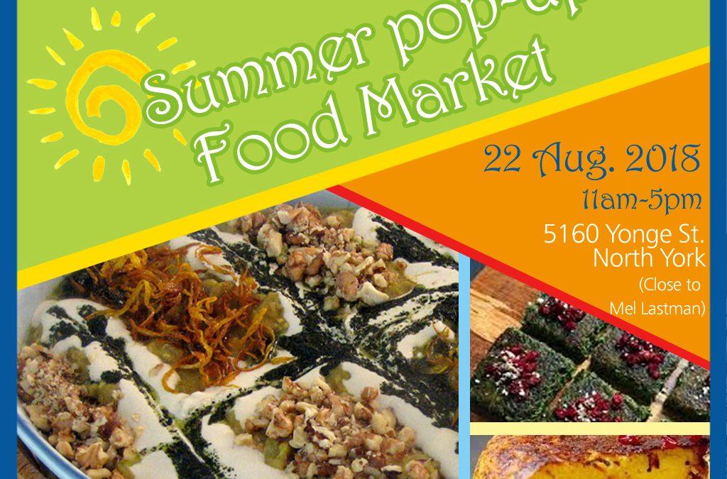Summer Popup Market